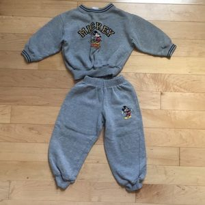 Mickey Mouse Sweatshirt and Sweatpants size 3T